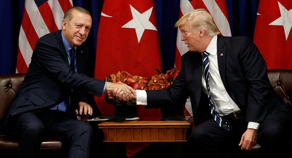 ترامب يشكر أردوغان على إطلاق سراح القس أندرو برانسون
