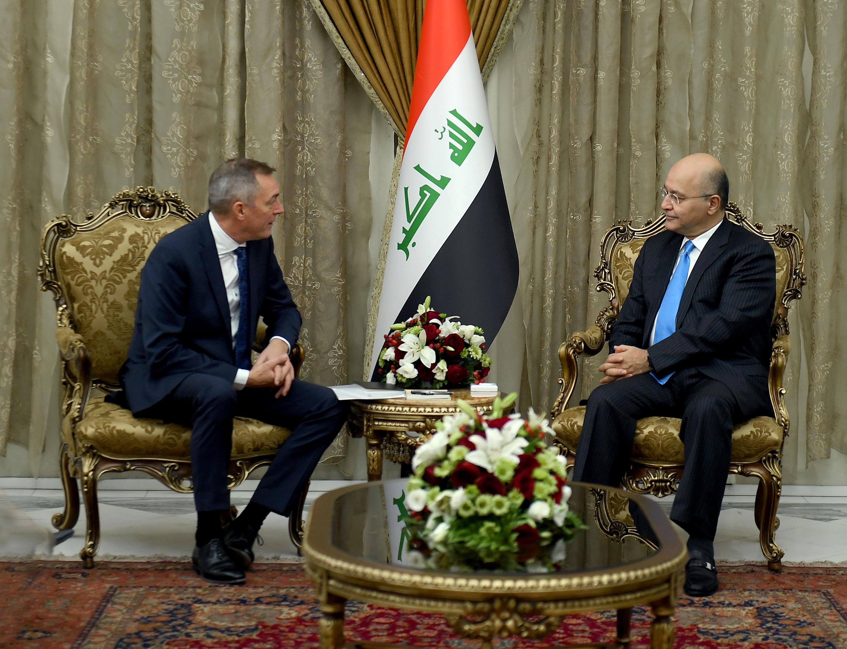 النرويج تؤكد على التزامها المستمر بدعم العراق