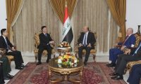 صالح يدعو إلى تعزيز العلاقات مع الصين
