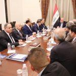 العبادي ومجلس الاقتصاد العراقي يؤكدان على تسهيل إجراءات الاستثمار