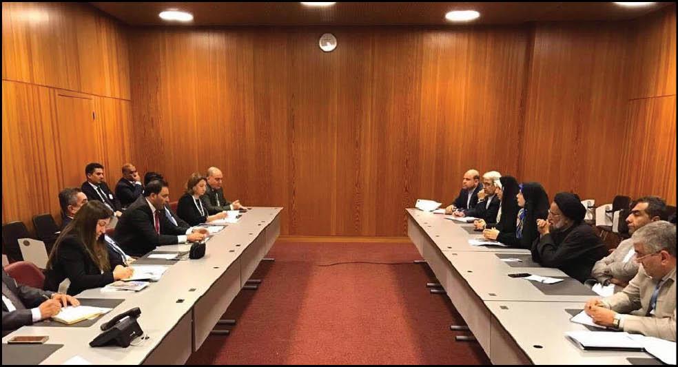 العراق وإيران يؤكدان على تعزيز العلاقات الاقتصادية بين البلدين