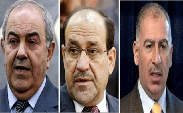 وزارة العدل:مرسوم جمهوري بإحالة المالكي وعلاوي والنجيفي على التقاعد