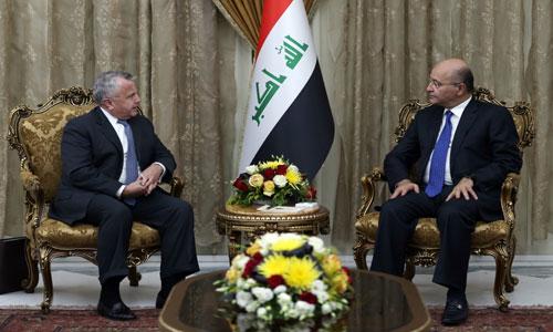 صالح يثمن دور الولايات المتحدة في دعم العراق