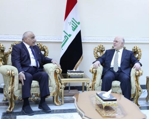 عبد المهدي والعبادي يؤكدان على التعاون