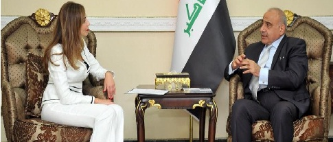 عبد المهدي يدعو البنك الدولي إلى دعم العراق