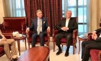 بافل في اجتماع له مع مسؤولين عرب وتركمان يؤكد على التعايش المشترك في كركوك