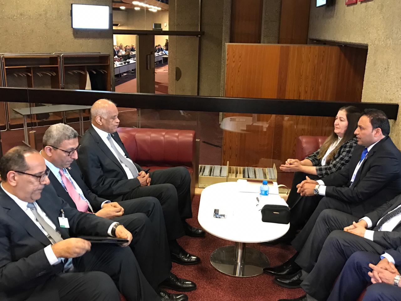 العراق ومصر يبحثان تعزيز التعاون البرلماني بين البلدين