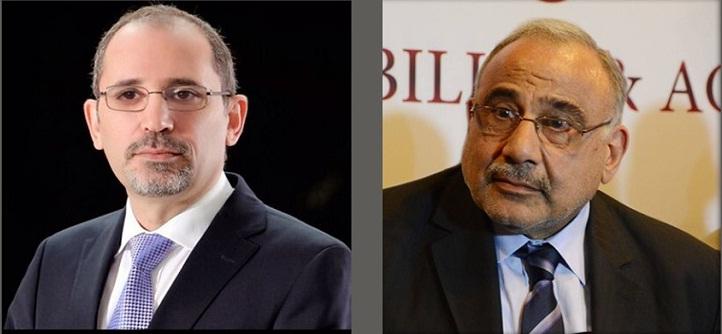 عبد المهدي والصفدي يبحثان تعزيز التعاون بين العراق والأردن
