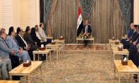 صالح يؤكد على دعم الفنان العراقي
