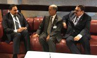 الكعبي يدعو إلى تعزيز التعاون مع قطر