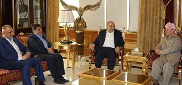 البارزاني لتحالف الفتح:معالجة الخلافات بين بغداد وأربيل بحاجة إلى التوافق