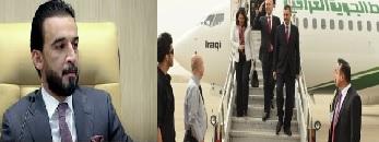 برهم صالح في طهران والحلبوسي في الدوحة