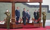 العاهل الأردني يستقبل الرئيس العراقي