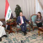 """صالح يدعو الولايات المتحدة """" لمراعاة خصوصية العراق مع إيران"""""""