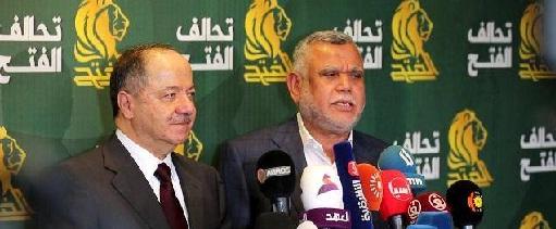 سعي إيران لضم البارزاني إلى تحالف البناء بداية إنفراط محورها في العراق
