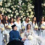 ملك ماليزيا يتزوج ملكة جمال روسيا