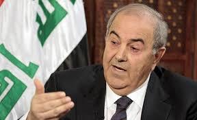 علاوي يرفض إقحام العراق في الصراعات الدولية والإقليمية
