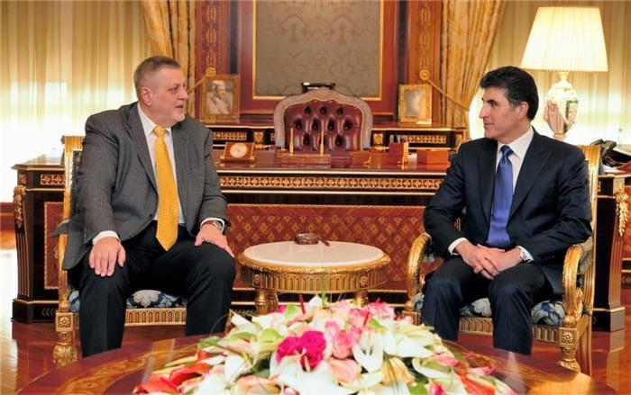 نيجيرفان وكوبيتش يؤكدان على الأسراع بتشكيل حكومة الإقليم