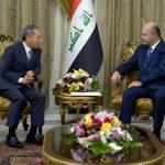 صالح يدعو الشركات الكورية في إعادة اعمار العراق