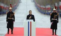 ماكرون يدعو دول العالم إلى السلام ونبذ العنف والهيمنة