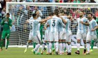 فوز ساحق للفريق الأرجنتيني على نظيره المكسيكي