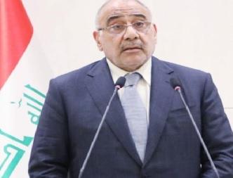 """عبد المهدي يُبشر العراقيين """" الأمن تحت سيطرة قواتنا""""!"""
