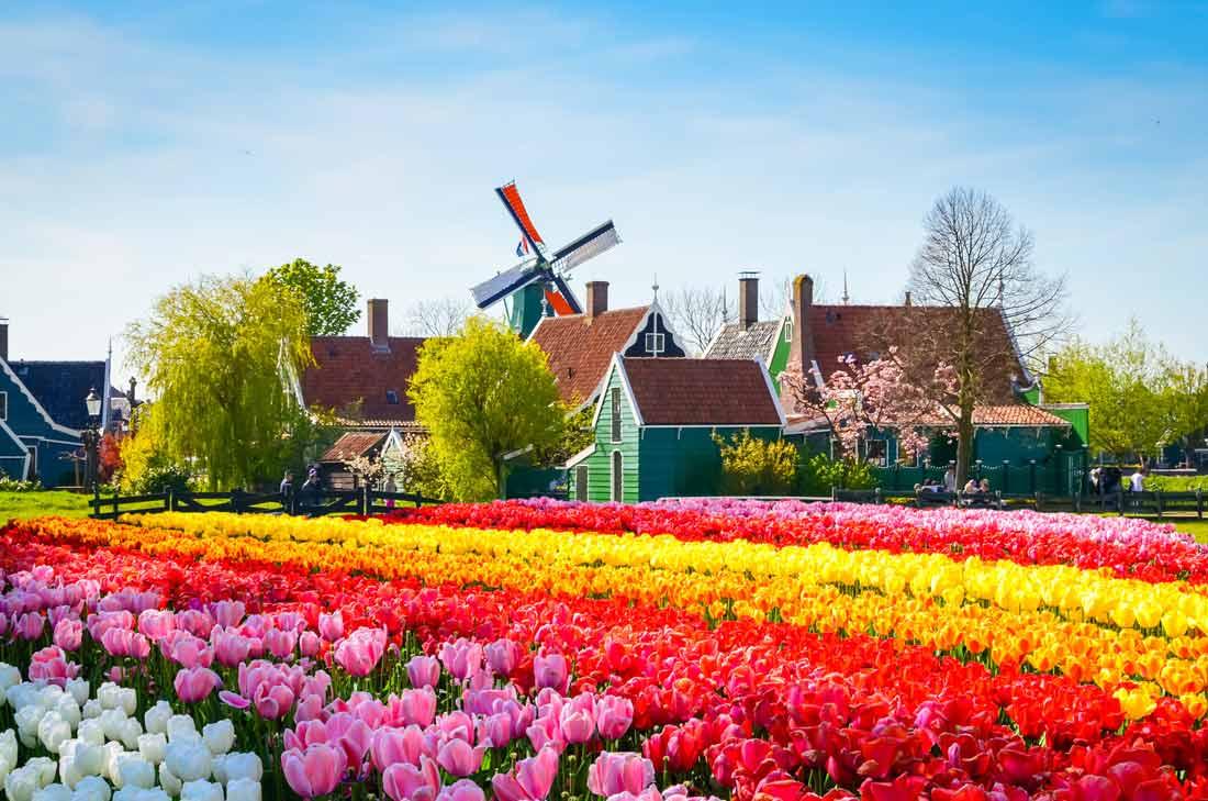 قرية هولندية تعاني من كثرة السياح