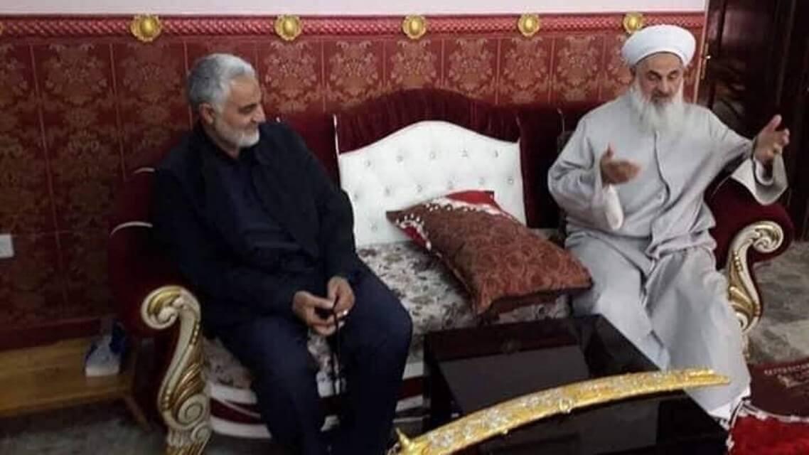 """بالصور..سليماني في بيت """"المفتي الصميدعي"""""""