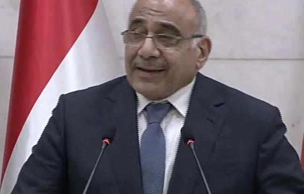 """هكذا الشجاعة..عبد المهدي:لن نتجاوز مفردة """"الرفض"""" لمن يخرق سيادة العراق!"""