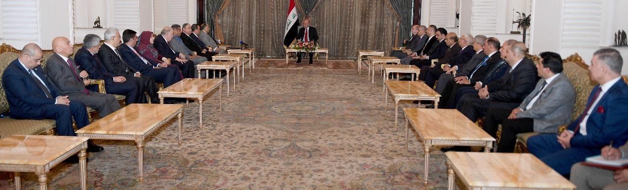صالح يؤكد على دعم النشاط الاقتصادي العراقي