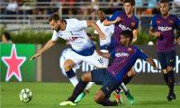 توتنهام يجازف بقوة أمام برشلونة في دوري الأبطال
