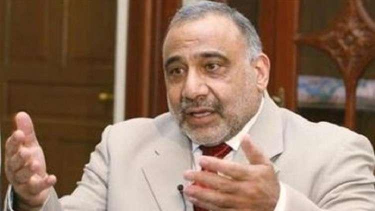 عبد المهدي يلتقي مع مسؤولي محافظة ديالى