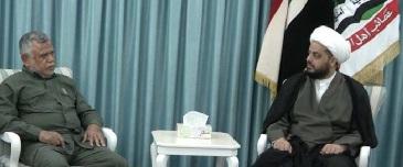 العامري والخزعلي يؤكدان على تمرير كابينة عبد المهدي وفق أوامر خامئني