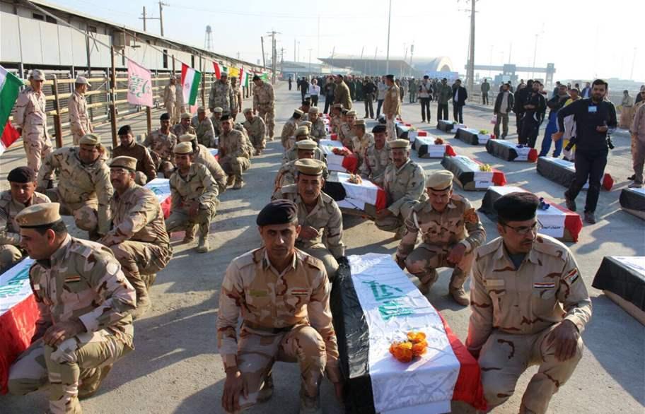 تبادل رفات غير متوازن بين العراق وإيران