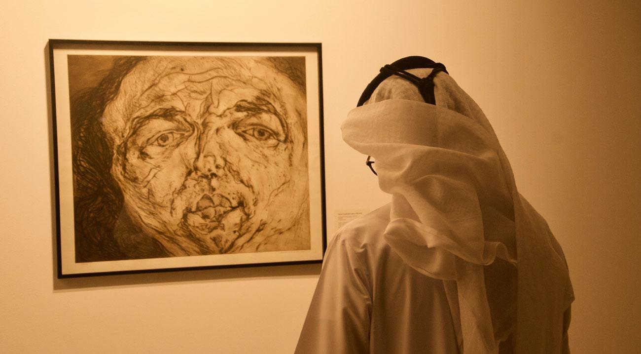 """25 عملا فنيا في معرض """"الباطن الظاهر"""""""