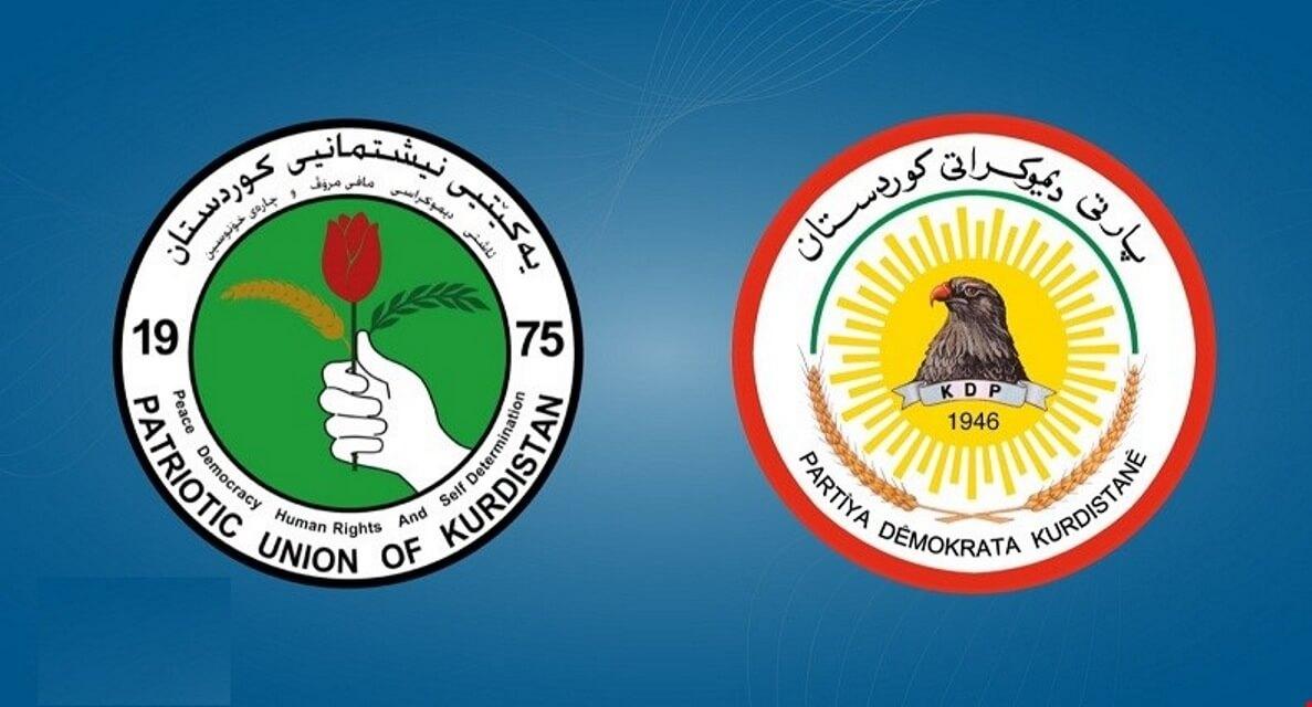 حزبي بارزاني وطالباني يتفقان على توزيع المناصب بينهما في بغداد وكردستان