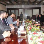 سائرون والوفد الكردي يؤكدان على الإصلاح ومكافحة الفساد