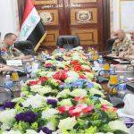الغانمي وفورتن يؤكدان على مواصلة دعم حلف الناتو للجيش العراقي