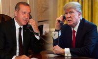 اردوغان يهاتف ترامب ويؤكد على التعاون والتنسيق مع واشنطن في الملف السوري