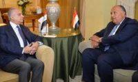 الحكيم وشكري يبحثان التعاون والربط الكهربائي بين بغداد والقاهرة