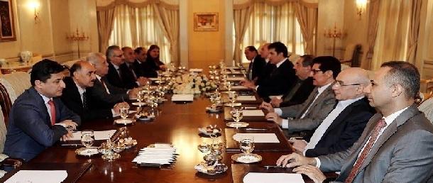 """حزب بارزاني: تم تحقيق """"مكسب جماهيري""""بتوزيع المناصب على الأحزاب الكردية الرئيسية"""