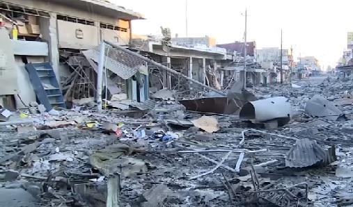 صحيفة:تهريب ملايين الاطنان من حديد سكراب الموصل من قبل جهات متنفذة