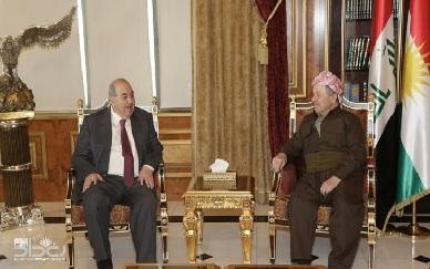 علاوي والبارزاني:في ظل حكومة أبو هاشم الوضع أفضل