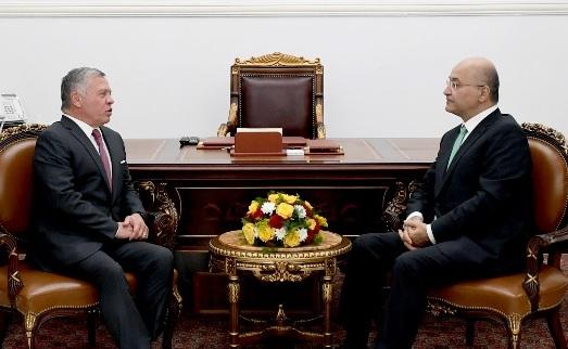 العاهل الأردني وصالح  يؤكدان على تعزيز العلاقات العربية