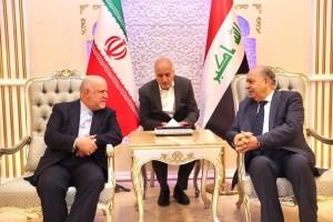وزير النفط الإيراني يصل بغداد ويلتقي بالغضبان