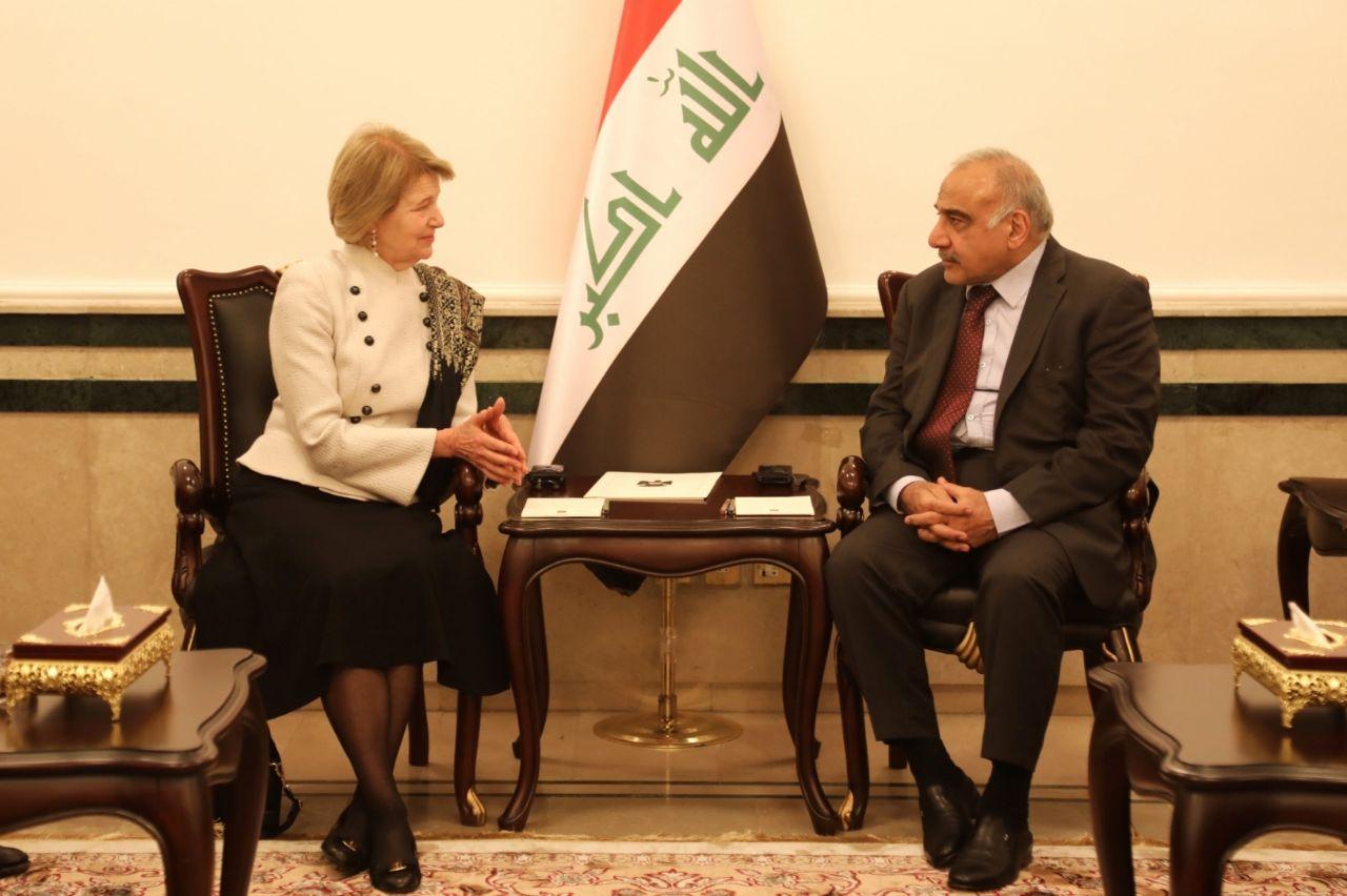 عبد المهدي:دلائل الخير ظهرت في العراق