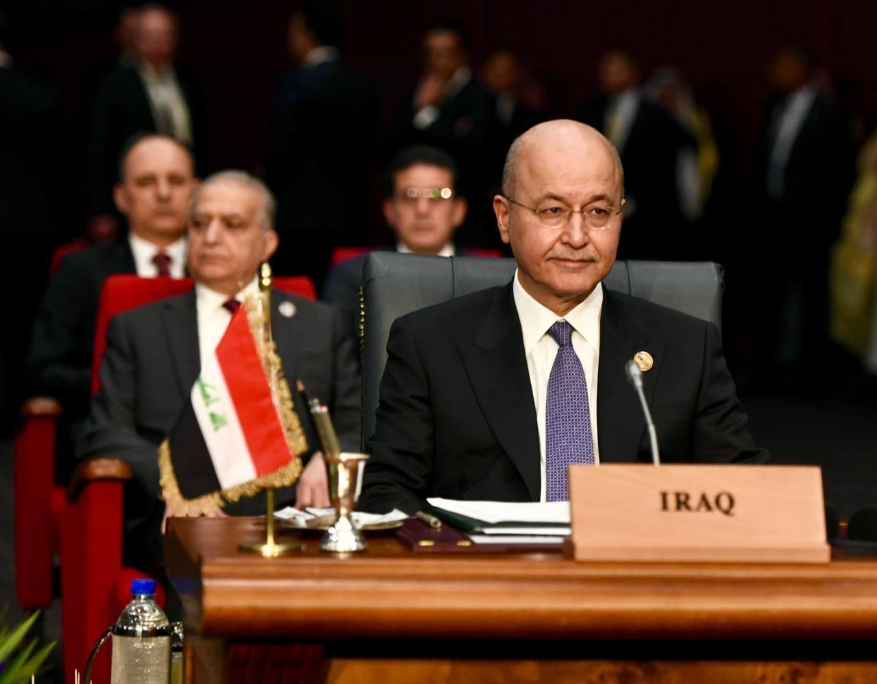 """صالح:العراق """"ساحة للتوافق الدولي"""""""