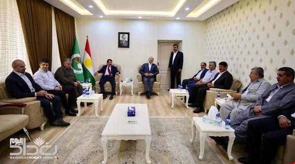 الاتحاد الوطني بحضور برهم صالح:طرد الاحتلال العراقي من كركوك قضية قومية!!