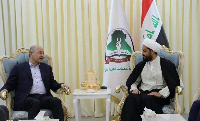 """أضحكوا..الخزعلي يناقش """"السيادة الوطنية""""مع صالح"""