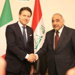 كونتي:ايطاليا ستبقى إلى جانب العراق في الاستقرار والإعمار
